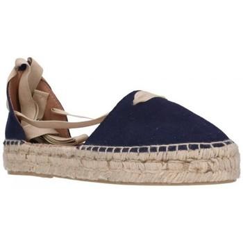Sapatos Mulher Alpargatas Carmen Garcia 92D30 azul 300 Mujer Azul bleu
