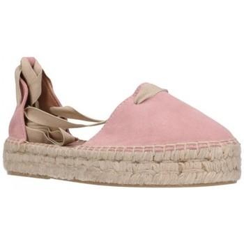 Sapatos Mulher Alpargatas Carmen Garcia 92D30 Antique Mujer Marron rose