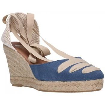 Sapatos Mulher Alpargatas Carmen Garcia 41s7 Iris Mujer Azul bleu
