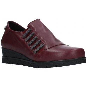 Sapatos Mulher Mocassins Valeria's 6503 Mujer Burdeos rouge