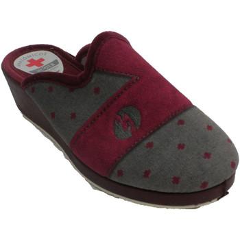 Sapatos Mulher Chinelos Muñoz Y Tercero Chinelos femininos abertos atrás de boli burdeos