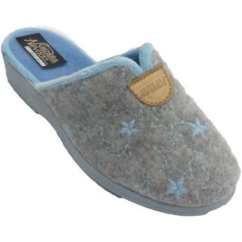 Sapatos Mulher Chinelos Nevada Chinelos femininos abrindo atrás de estr azul