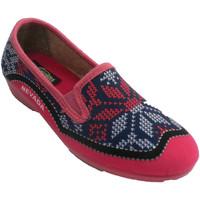 Sapatos Mulher Chinelos Nevada Tênis feminino fechado simulando tricô N rosa