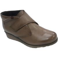 Sapatos Mulher Botas Pepe Menargues Botins femininos com velcro Pepe Menargu marrón