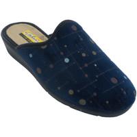 Sapatos Mulher Chinelos Aguas Nuevas Chinelos femininos abrindo atrás de boli azul