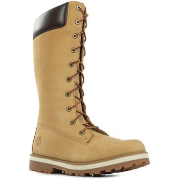 Sapatos Criança Botas Timberland Courma Kid Castanho