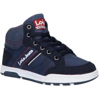 Sapatos Criança Sapatilhas de cano-alto Lois 63083 Azul