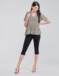 Textil Mulher Calças curtas Vero Moda VMHOT SEVEN Preto