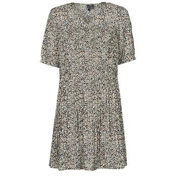Textil Mulher Vestidos curtos Vero Moda VMELIN Bege