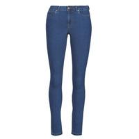 Textil Mulher Calças de ganga slim Vero Moda VMJUDY Azul