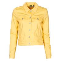 Textil Mulher casacos de ganga Vero Moda VMHOTSOYA Amarelo