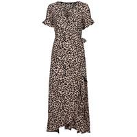 Textil Mulher Vestidos compridos Vero Moda VMSAGA Bege