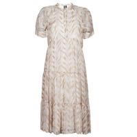Textil Mulher Vestidos compridos Vero Moda VMKATHRINE Bege