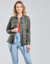 Textil Mulher Casacos/Blazers Vero Moda VMVIVIANA Cáqui