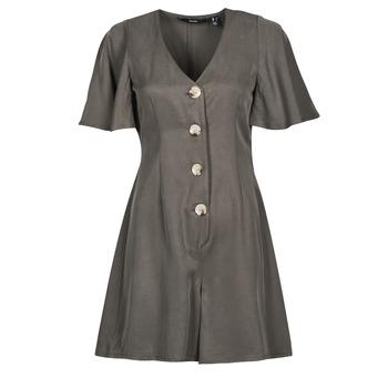 Textil Mulher Macacões/ Jardineiras Vero Moda VMVIVIANA Cáqui