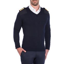 Textil Homem camisolas Skypro Long Sleeve pullover Azul