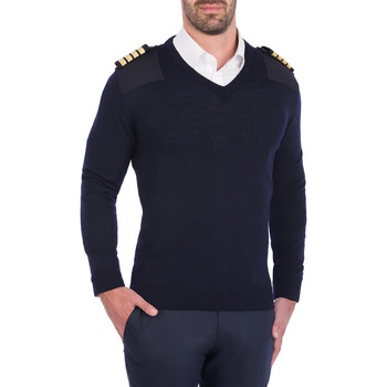 Textil Homem camisolas Skypro Long Sleeve pullover Preto