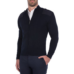 Textil Homem Casacos de malha Skypro knit Zipper Azul