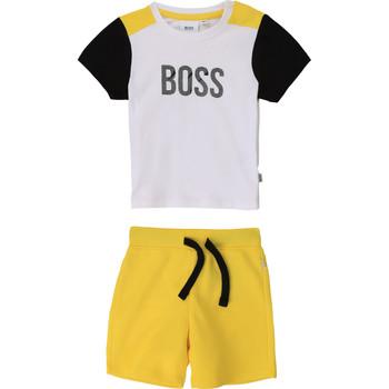 Textil Rapaz Conjunto BOSS COLITA Multicolor