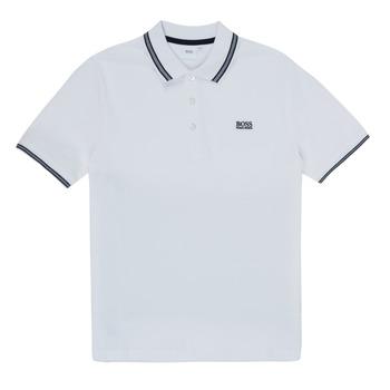 Textil Rapaz Polos mangas curta BOSS TONNELA Branco