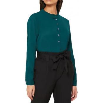 Textil Mulher camisas Jacqueline De Yong  Verde