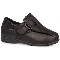 Sapatos Mulher Sapatos & Richelieu Calzamedi SAPATOS  ELÁSTICOS DIABÉTICOS CASUAIS NEGRO