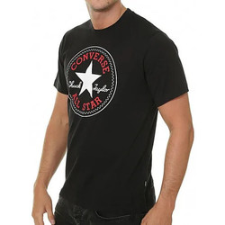Textil Homem T-Shirt mangas curtas Converse  Preto