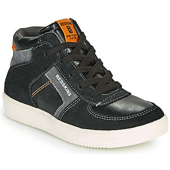 Sapatos Rapaz Sapatilhas de cano-alto Redskins LAVAL KID Preto / Antracite