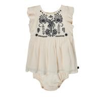 Textil Rapariga Vestidos curtos Ikks XS30060-11 Branco