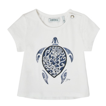 Textil Rapariga T-Shirt mangas curtas Ikks XS10070-19 Branco