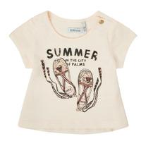 Textil Rapariga T-Shirt mangas curtas Ikks XS10090-11 Branco