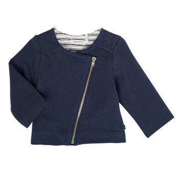 Textil Rapariga Casacos de malha Ikks XS17030-48 Marinho