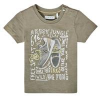 Textil Rapaz T-Shirt mangas curtas Ikks XS10141-57 Cáqui