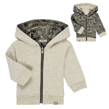 Textil Rapaz Sweats Ikks XS17041-15 Branco