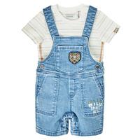 Textil Rapaz Macacões/ Jardineiras Ikks XS37011-84 Azul