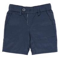 Textil Rapaz Shorts / Bermudas Ikks XS25021-45 Marinho