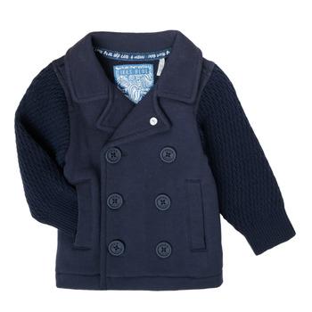 Textil Rapaz Casacos de malha Ikks XS17001-48 Marinho