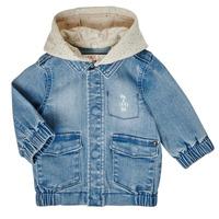 Textil Rapaz Jaquetas Ikks XS40021-84 Azul