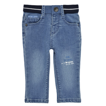 Textil Rapaz Calças de ganga slim Ikks XS29001-83 Azul