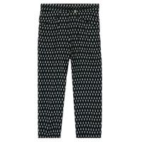 Textil Rapariga Calças finas / Sarouels Ikks XS22002-02-J Preto