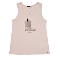 Textil Rapariga Tops sem mangas Ikks XS10302-31-J Rosa