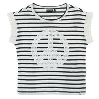 Textil Rapariga T-Shirt mangas curtas Ikks XS10022-19-C Multicolor