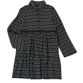 Textil Rapariga Vestidos curtos Ikks XS30002-02-C Preto