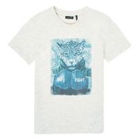 Textil Rapaz T-Shirt mangas curtas Ikks XS10183-22-C Branco