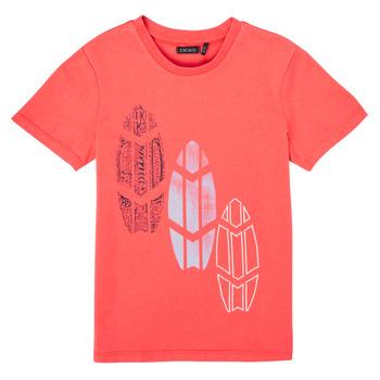Textil Rapaz T-Shirt mangas curtas Ikks XS10043-79-C Vermelho