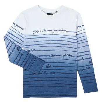 Textil Rapaz T-shirt mangas compridas Ikks XS10003-19-C Multicolor