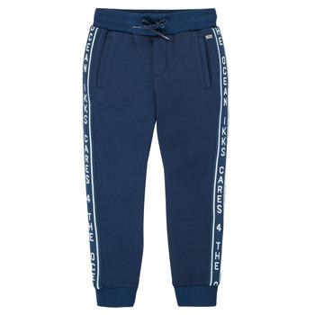 Textil Rapaz Calças de treino Ikks XS23003-48-C Marinho