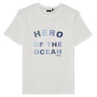 Textil Rapaz T-Shirt mangas curtas Ikks XS10343-19-C Branco