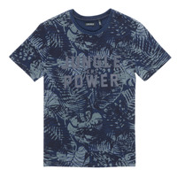 Textil Rapaz T-Shirt mangas curtas Ikks XS10153-46-C Marinho