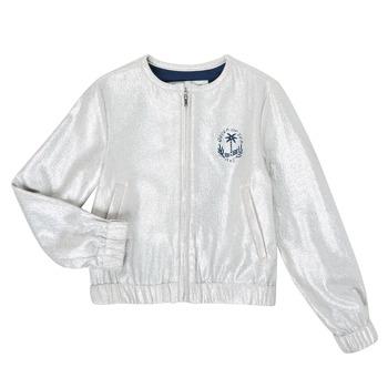 Textil Rapariga Casacos/Blazers Ikks XS17042-18-J Prateado